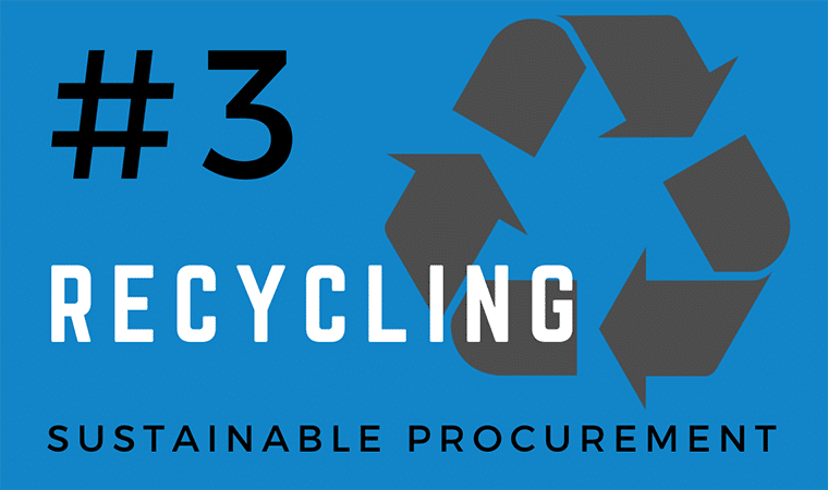 Sustainable Purchasing - Recycling