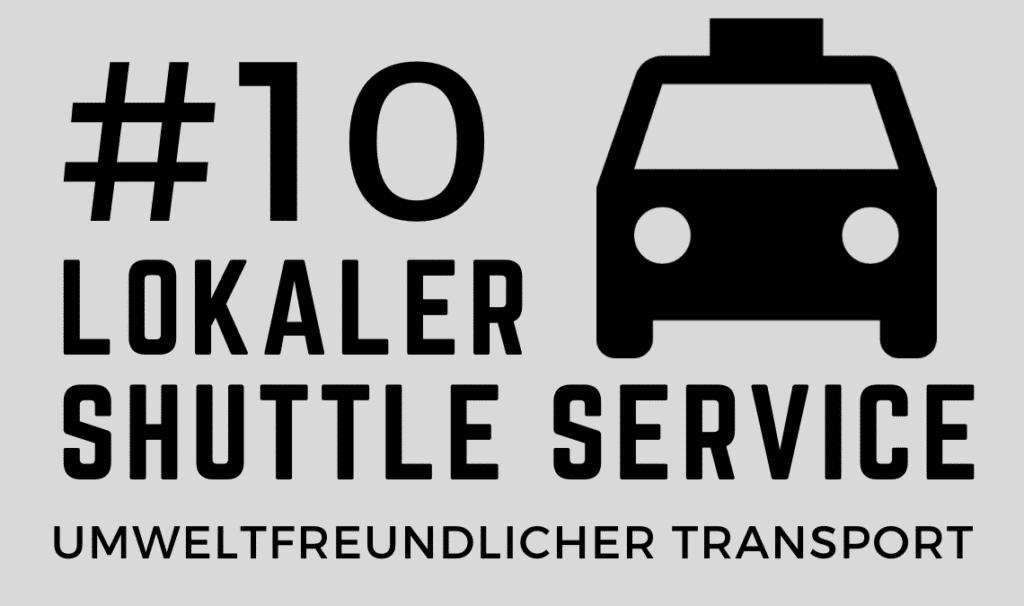 Nachhaltiger Transport