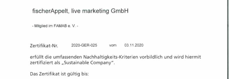 fischerAppelt, live marketing GmbH